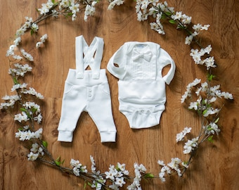 Baby Boy Blessing Outfit, Blessing Outfit, Baptism Outfit, Christening Suit, White Suit, Baby Christening, White Tuxedo, Blessing Suit