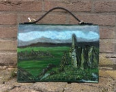 Handpainted Shoulderbag, ...