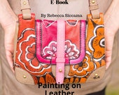 E-Book: Painting on Leather; Everything you need to know to start painting on leather