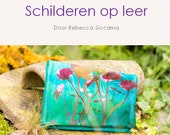 E-book: Painting on Leather; An e-book with all the information to get started!