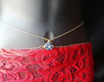 Waist Chain / Body Chain / Belly Chain / Body Jewelry / Body Jewellery