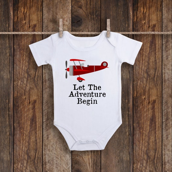 292545 Twin onesies Outfit for an airplane birthday party to match airplane party decor Airplane baby shower