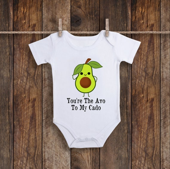 funny avocado Baby Bib Lets Avo Cuddle