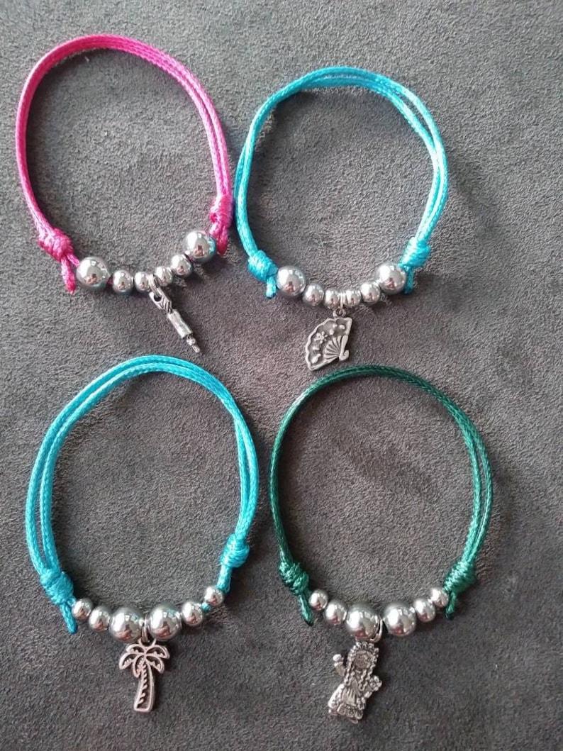 Simple bracelets Fine bracelet Alicante Bracelet. Thread bracelet Bonfire Bracelet