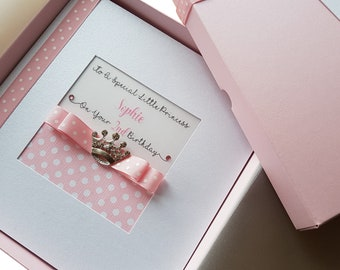 1st Birthday Card Etsy