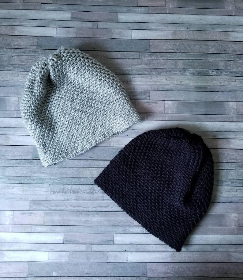 0ed813d44f0 Simple Slouchy Beanie Crochet Beanie fall winter