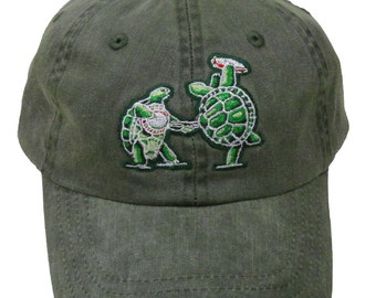 Grateful Dead Hat Terrapin Station embroidered Baseball Cap   hat  Dead and  Company  Turtles  banjo  8096ba9a2dfc