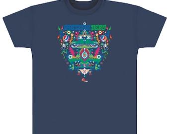 da3b1735e8d Grateful Dead Alligator T-shirt on Navy or Purple  100% cotton  stealies