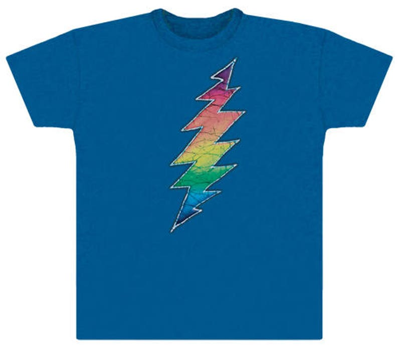 e04bc8e701e Grateful Dead T-shirt 13 Point Lightning bolt 100% cotton