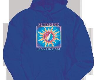 Grateful Dead Hoodie-Sunshine Daydream/ 13 Point Lightning Bolt in a Sun S8FWzPsrT