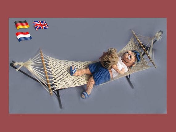 My fairy needs a hammock! | Baby hammock, Pattern, Tiny dolls | 428x570