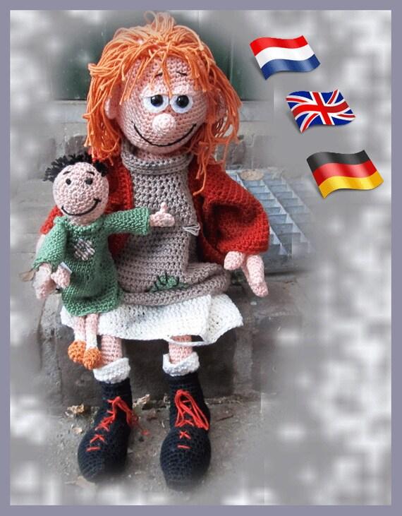 Häkelanleitung Arme Anna Amigurumi Puppe Häkelanleitung Etsy