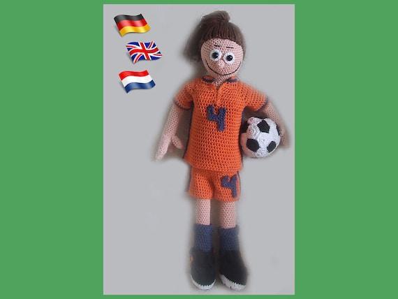 Girl Power Amigurumi Puppe Häkelanleitung Gehäkelte Puppen Etsy