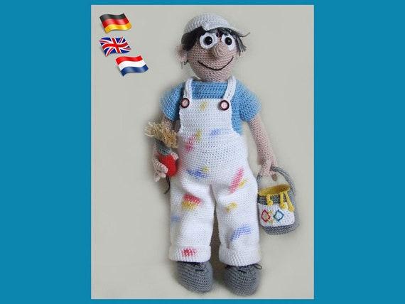 Amigurumi Puppe Kinder Geschenk Geburtstag Handmade Doll Crochet ...   428x570