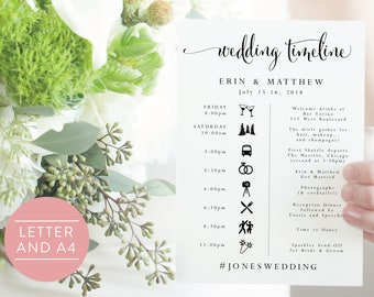 wedding templates etsy nz