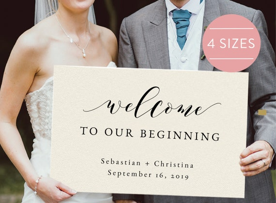 Welcome Sign Welcome Board Reception Welcome Welcome To Our Etsy