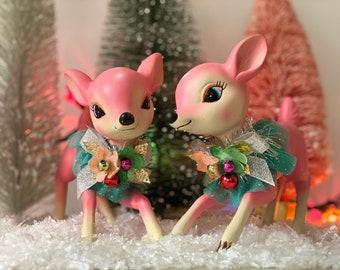 Christmas Figurines Etsy