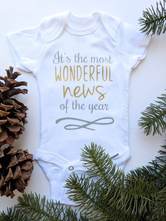 It's the Most Wonderful News of the Year  Christmas
