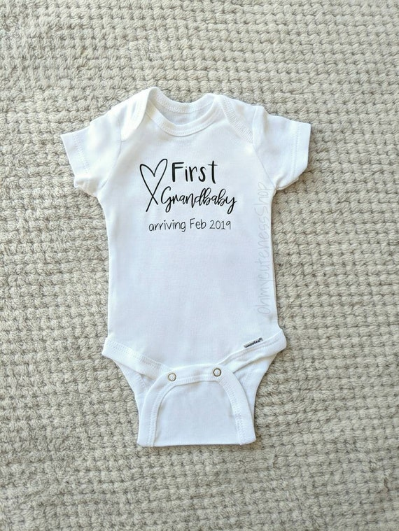 Lolly Pregnancy Announcement Onsie I Love My Lolli Onesie Cute Gift for New Grandparents Modern Infant Apparel Grandma Unique Bodysuit