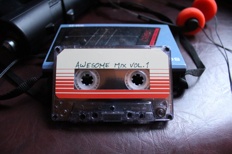 Awesome mix vol. 1 tape Guardians of the Galaxy Soundtrack image 0