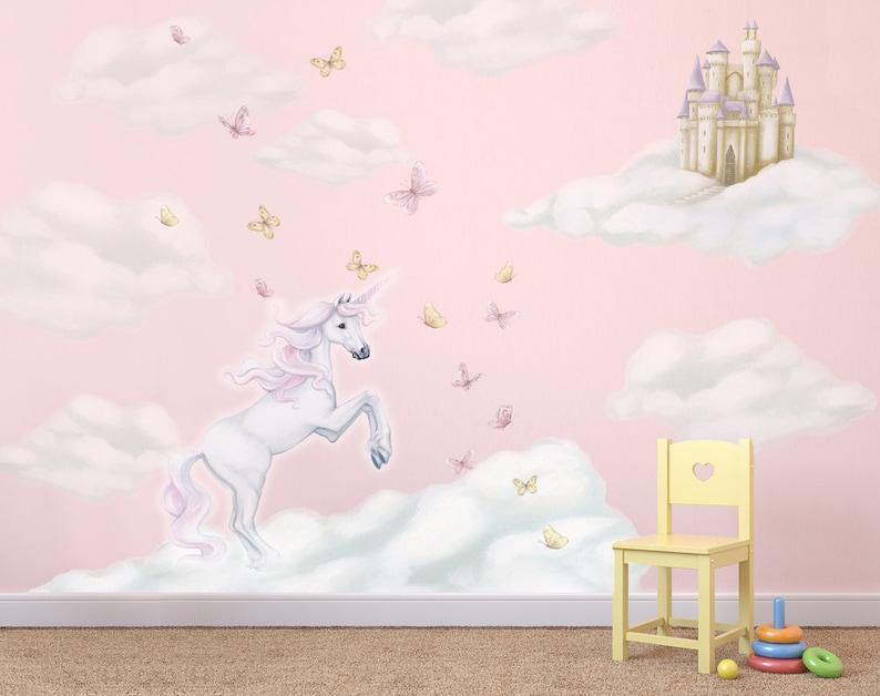 unicorn decals unicorn decal unicorn wall stickers | etsy