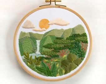 Abundance Advanced Embroidery Pattern