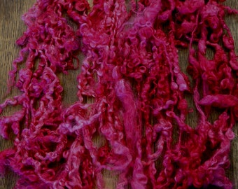Art Yarn Hand spun hand dyed tailspun