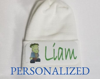 4b05d9fe6ebee Personalized Newborn Hat