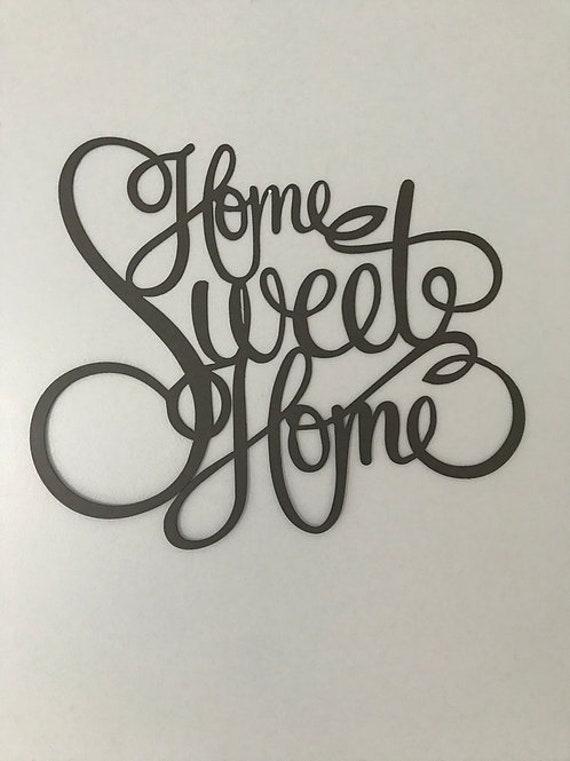 Home Sweet Home Wall Decor.Home Sweet Home Wall Art Metal Art