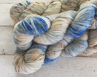 Hand Dyed Yarn - Indie Dyed Yarn - Farmhouse Sock - Barn Swallow