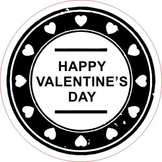 happy valentines day stamp traxx 9045 style v self inking