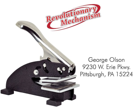 For Shiny EZ-Seal Hand held embosser for created by-can customize with your name
