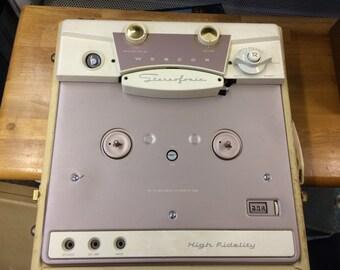 Webcor Reel to Reel Recorder