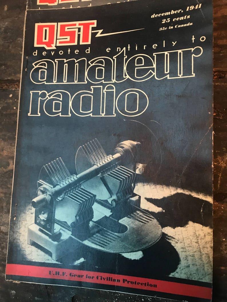 Vintage QST Magazines