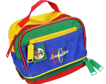 deb3bcc9353 Benetton bag 90s | Etsy