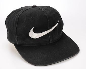 279e5c75e13 Vintage 80s 90s Nike swoosh Logo Cap Hat Snapback