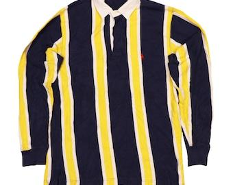 ea4e8099f8a Vintage 90s polo Ralph Lauren rugby shirt