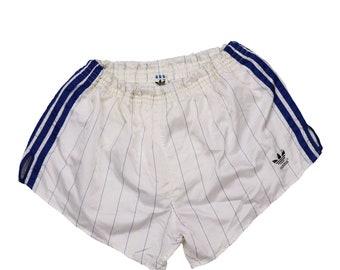 418768e6c3 Vintage 80s 90s adidas running shorts original classic logo Size L