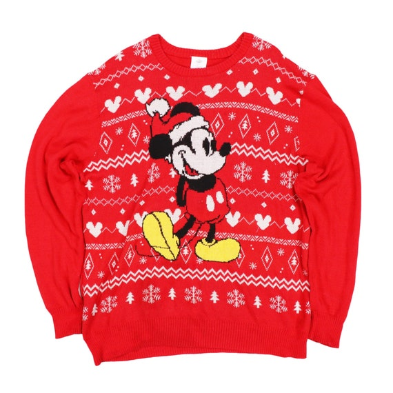 Vintage mickey mouse knitwear Sweater Sweatshirt