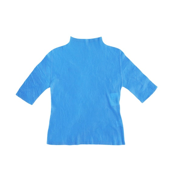 issey miyake pleats please tops , pleated shirt