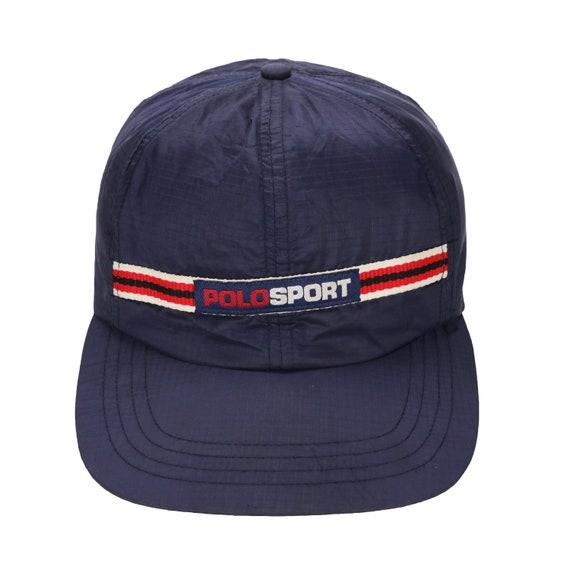 Vintage 90s Polo Sport Ralph Lauren Stadium Rl93 Cap Hat  5b0d71c9e22a