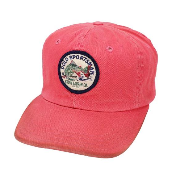 Vintage 90s Polo Sport Ralph Lauren Polo Sportman cap hat  baddccc6d20e