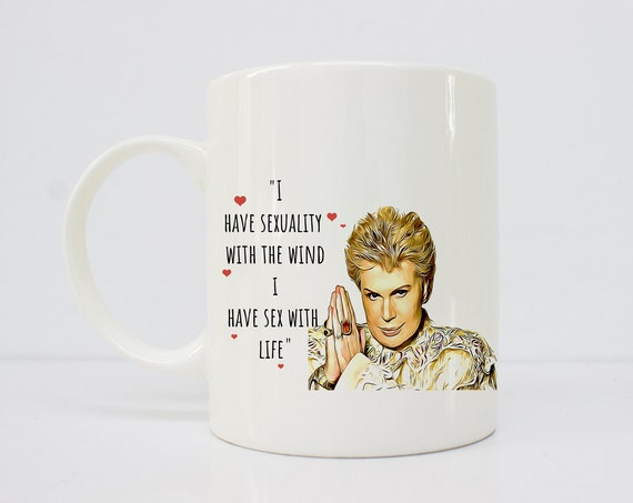 Walter Mercado - nonbinary - gift for her - they them- latinx - novelas - latina mug -asexual -lgbtq