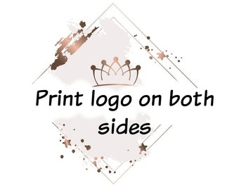 Print logo on both sides