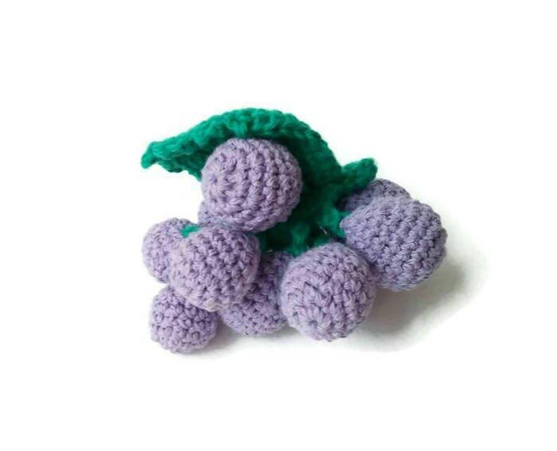 Crochet for Beginner : Food 001 - Grape - YouTube   642x794