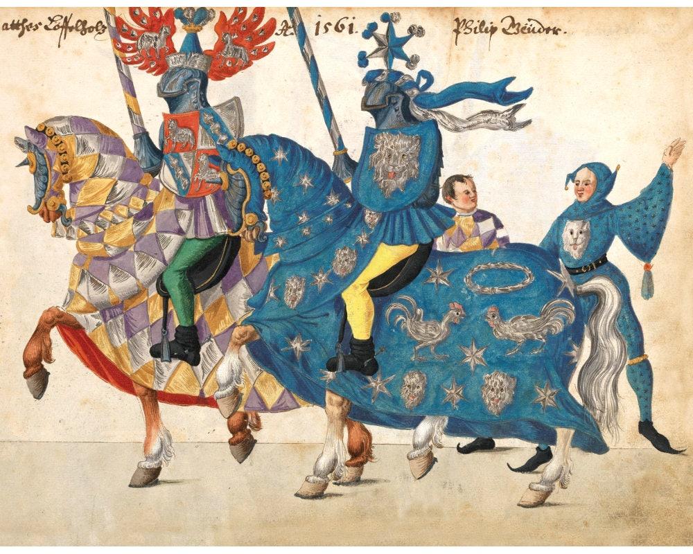 Knights fantasy art print Knight wall art Renaissance art   Etsy