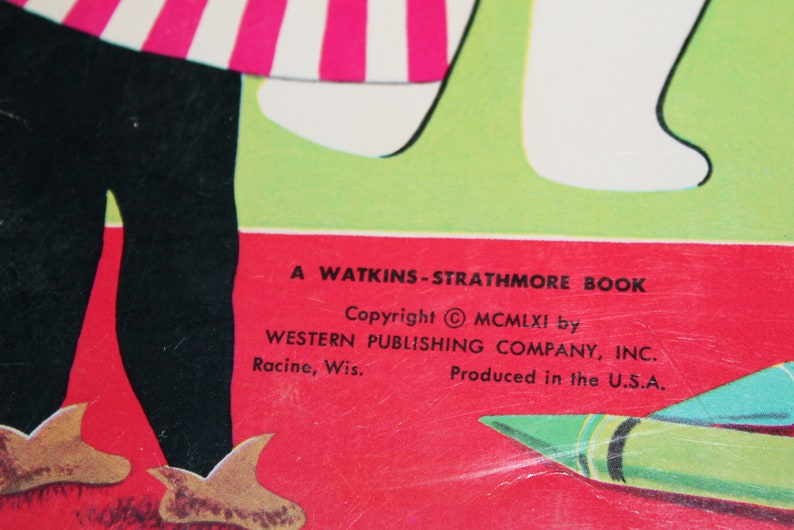 Craft Project fun Stencil Fun for Christmas Vintage Book A Watkins Strathmore Book
