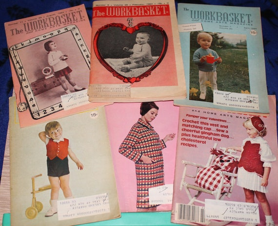 Vintage The Workbasket Magazine Home Sewing Crafting Etsy