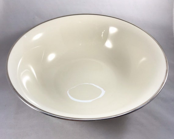 Vintage Lenox China - Montclair Platinum Large Serving Bowl