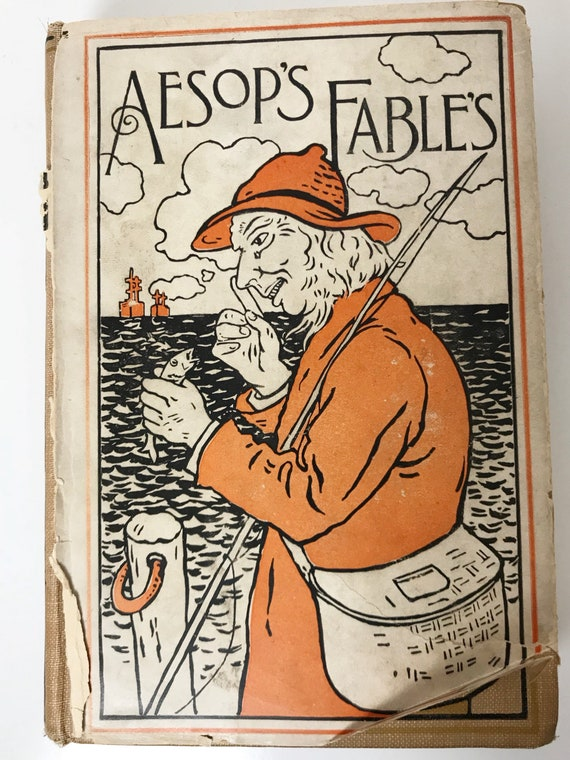 Aesop's Fables - Pub. by A. L. Burt Oxford Series - 1923 - Illustrated